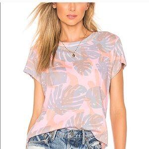 Wildfox Tropical Camo Print T-Shirt